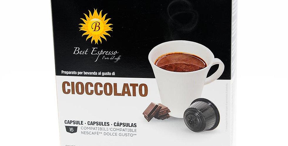 48 (3x16) CAPSULES DE CHOCOLAT COMPATIBLES DOLCE GUSTO
