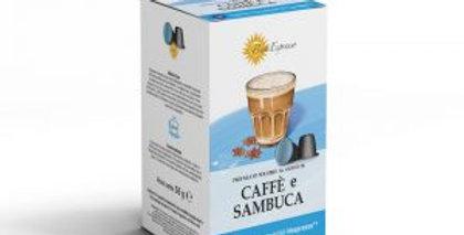 Capsules café sambuca pour nespresso
