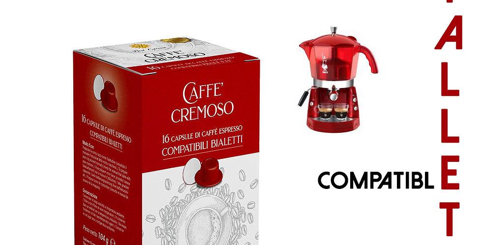 48 (16x3) CAPSULES DE CAFÉ CREMOSO COMPATIBLES BIALETTI