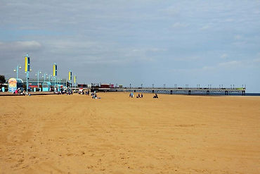 Skegness Beach near Boston Care Home