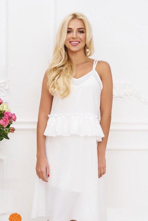 Платье двойное