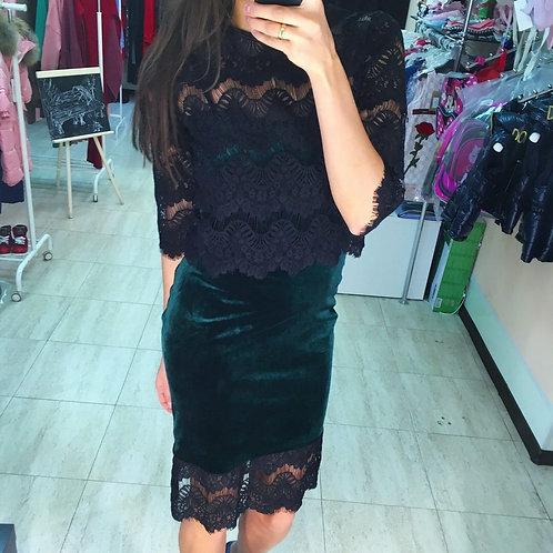 Платье+топ
