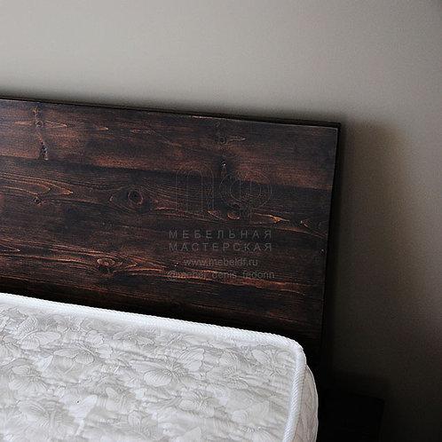 Кровать «Лофт» из дерева