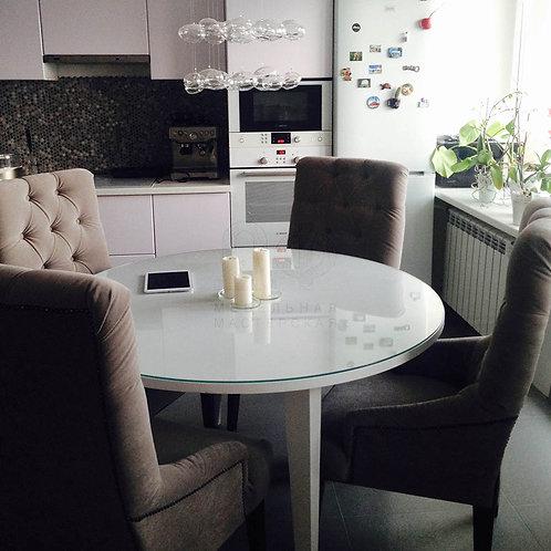 Обеденный стол «Белый» из дерева