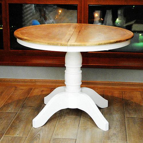 Обеденный стол круглый из дерева