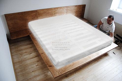 Кровать «Летающая» в стиле Лофт