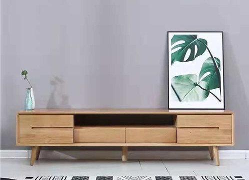 北歐白橡木電視櫃