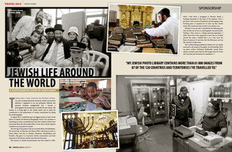 Photos and article. Jewish Life Magazine (South Africa)