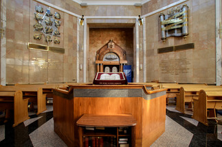 Holocaust Memorial Synagogue. Moscow, Russia.