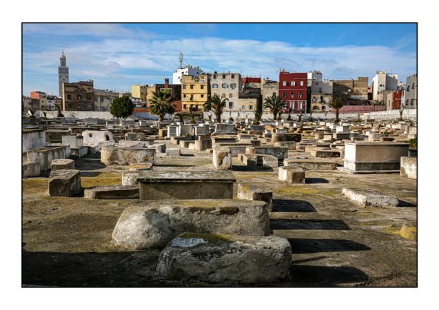 Old Jewish Cemetery.   Medina, Casablanca, Morocco.