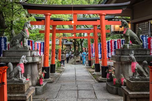 Naniwa Kozugu Shrine Grand Festival, Naniwa Takatsu Shrine. Takatsu, Osaka, Japan.