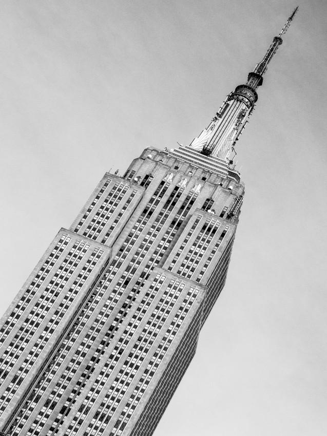 Empire State Building. Manhattan, New York City, New York, USA.