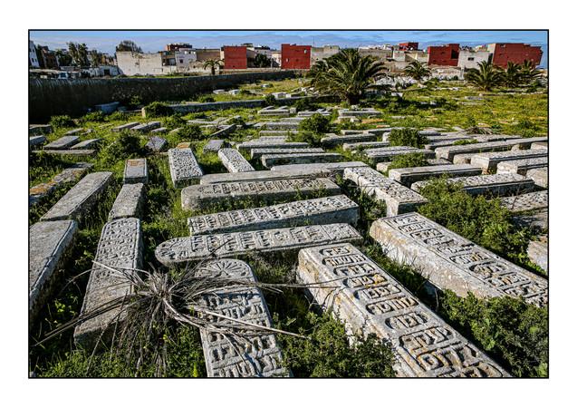 Jewish Cemetery.  El Jadida, Morocco.