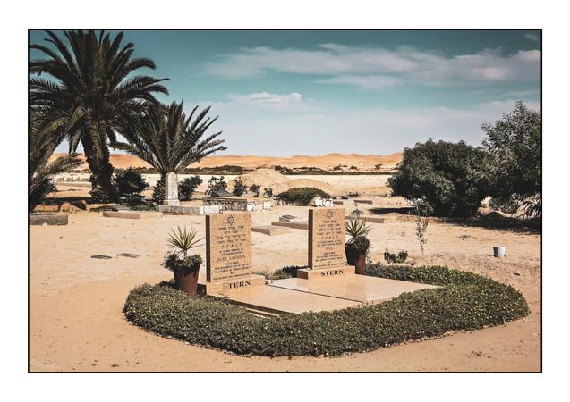 Jewish Cemetery.   Swakopmund, Namibia.