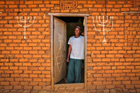 Abayudaya Jew, Nalubembe Village, Uganda.