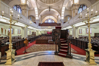 Gardens Synagogue. Cape Town, South Africa.