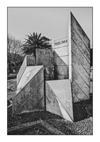 Holocaust memorial, Jewish Cemetery #2.  Pinelands, Cape Town, Western Cape, South Africa.