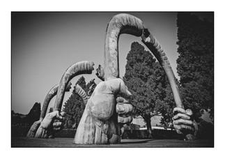 Holocaust memorial, West Park Cemetery (Jewish Sector).   Montgomery Park, Johannesburg, Gauteng, South Africa.