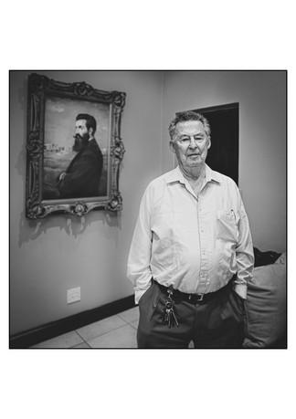 Don Krausz (Netherlands), Holocaust survivor.    Johannesburg, Gauteng, South Africa.