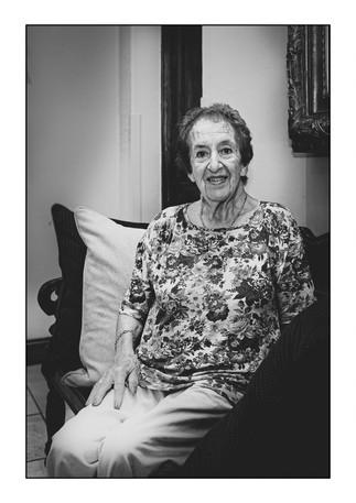 Esther Teplin (Belgium), Holocaust survivor.    Johannesburg, Gauteng, South Africa.