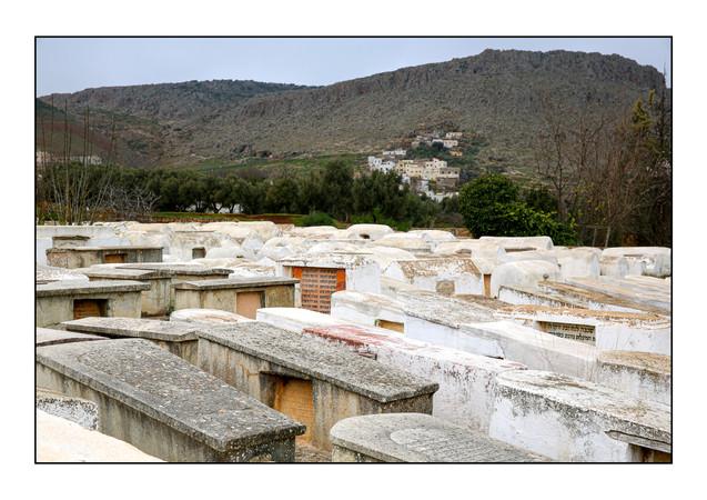 Jewish Cemetery.  Sefrou, Morocco.