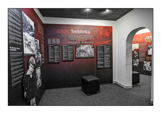 Holocaust exhibit, Kigali Genocide Memorial.  Kigali, Rwanda.