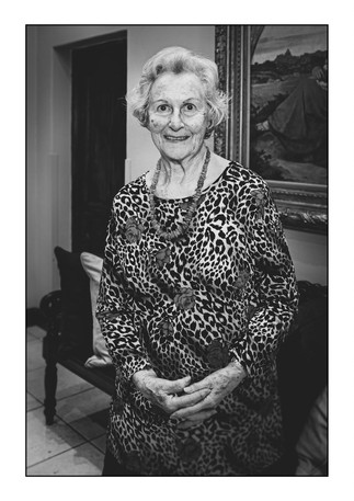 Margot Levy (Germany), Holocaust survivor.   Johannesburg, Gauteng, South Africa.