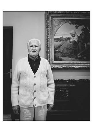 Mendel Lieman (Poland), Holocaust survivor.    Johannesburg, Gauteng, South Africa.