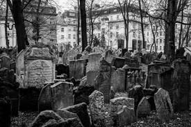 Old Jewish Cemetery. Prague, Czech Republic.