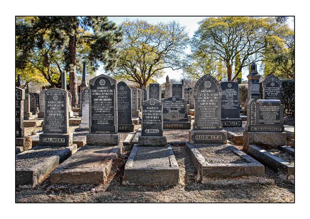 Rebecca Street Cemetery.   Pretoria, Gauteng, South Africa.