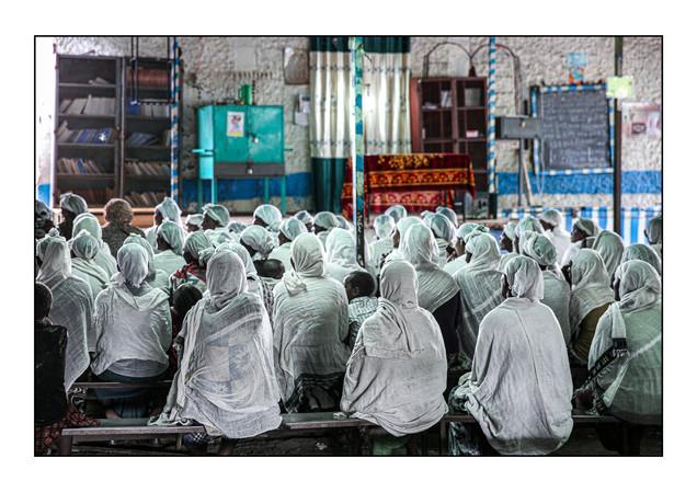Hatikvah Jewish Community.   Gondar, Ethiopia.