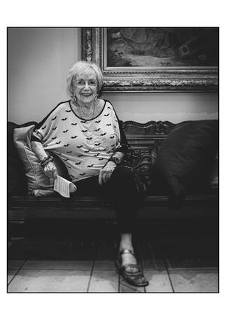 Marie Hess (Austria), Holocaust survivor.    Johannesburg, Gauteng, South Africa.