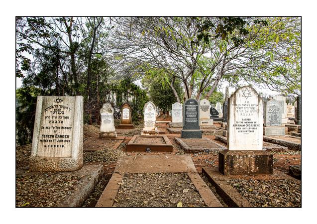 Jewish Cemetery.  Bulawayo, Zimbabwe.
