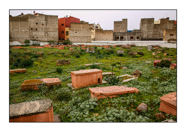 Jewish Cemetery.  Beni Mellal, Morroco.