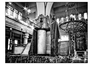 Sha'ar Hashamayim Synagogue (aka Temple Ismailia and the Adly Street Synagogue).  Cairo, Egypt.