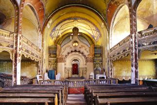 The Jakob and Komor Square Synagogue, aka Great Synagogue. Subotica. Serbia.