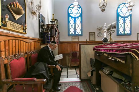Benarrosh Synagogue. Casablanca, Morocco.