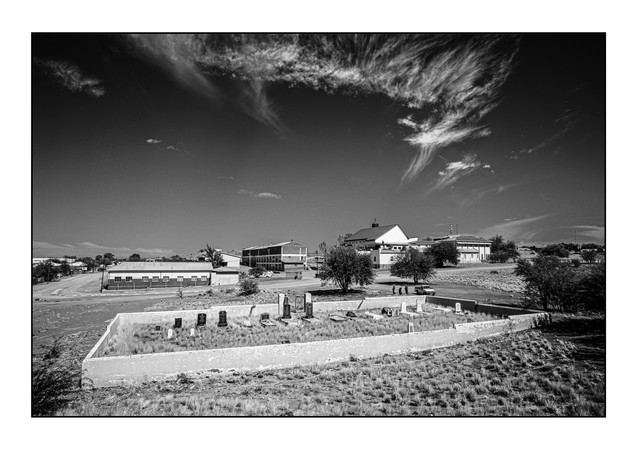 Jewish Cemetery.   Keetmanshoop, Namibia.