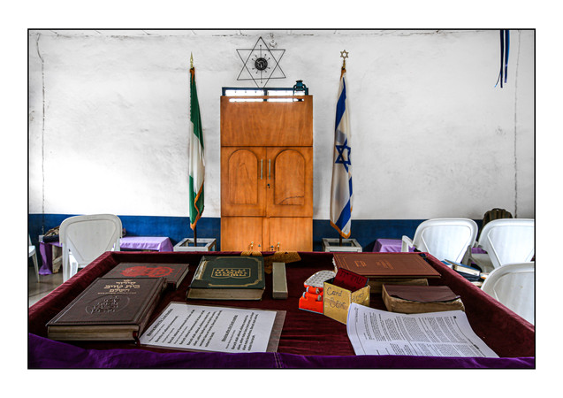 Ghihon Hebrews' Synagogue.   Jikwoyi, Abuja, Nigeria.