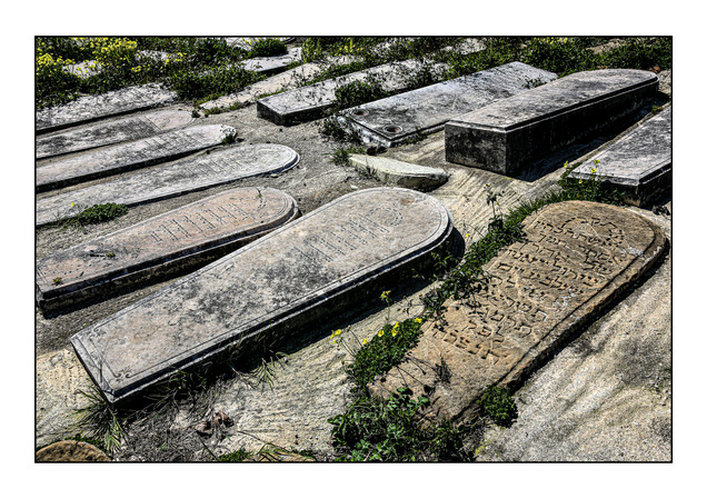Old Jewish Cemetery.  Tangier, Morocco.
