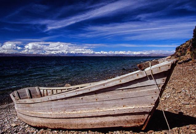 Lago de Titicaca, Bolivia.