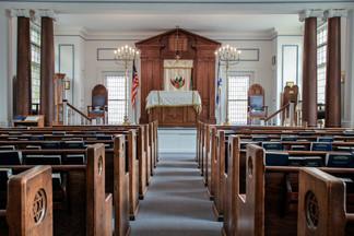 Beth Sholom (Historic) Synagogue. Frederick, Maryland, USA.