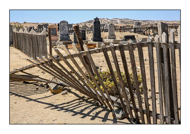 Jewish Cemetery.  Luderitz, Namibia.