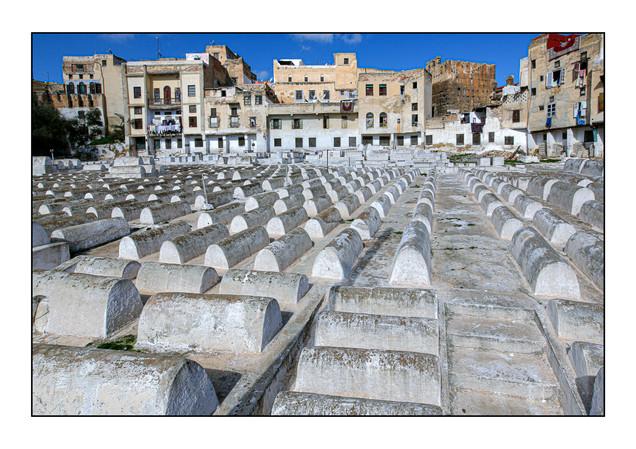Jewish Cemetery.  Fes, Morocco.