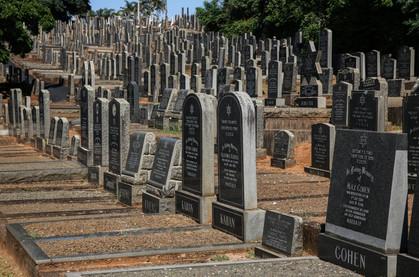 Stellawood Jewish Cemetery. Durban, South Africa.