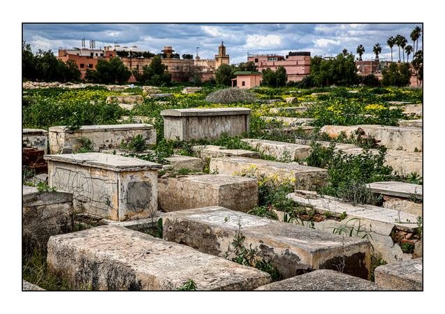 Jewish Cemetery.  Marrakesh, Morocco.