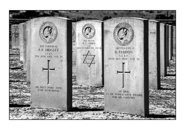 Commonwealth War Cemetery.   Tobruk, Libya.