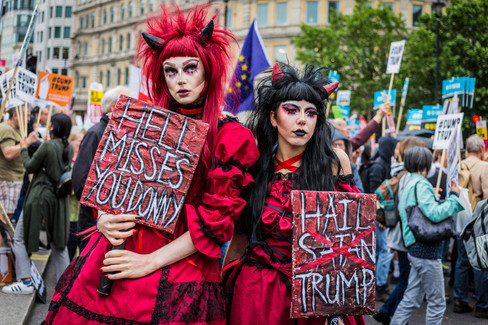 Anti-Trump Demonstration, London