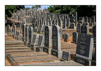 Stellawood Jewish Cemetery.  Durban, KwaZulu-Natal Province, South Africa.