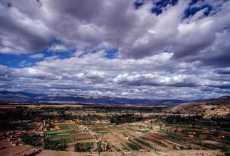 Farmland. Huancayo, Peru.